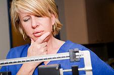Overvektig går ikke ned i vekt